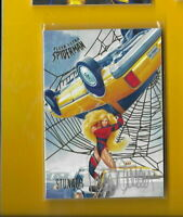 D4579 PATRICK FARICY STUNNER 2017 ULTRA SPIDER-MAN GOLD FOIL AUTOGRAPH #12/49$30