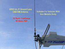 Sirio GL27 Ground Less CB Radio Antenna for Camper, RV, Motor Bike