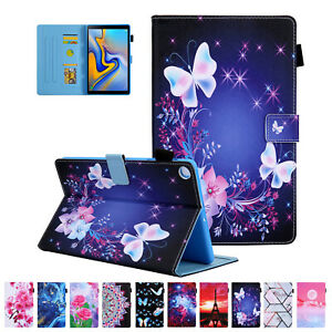 """For Samsung Galaxy Tab A7 10.4"""" 2020 Pattern Leather Magnetic Flip Case Cover"""
