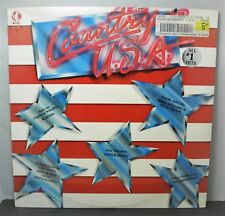 COUNTRY U.S.A. - Various Artists - K-TEL Sealed LP (1986)