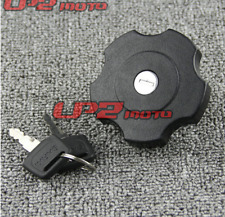CNC Fuel Gas Tank Cap Cover w/Key For Yamaha TTR250   TW225  DT50   DT200WR