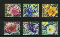 NZ130) New Zealand 2001 Garden Flowers MUH