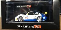 Rare Porsche 911 Minichamps No73  1:64 Race Series Unopened order MIB Ltd Edit