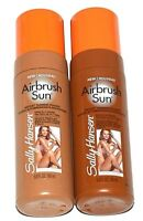 Pack Of 3 Sally Hansen Airbrush Sun Instant Tanning Mousse 5 OZ Medium Or Dark
