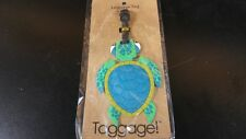 Turtle Taggage! Luggage Tag Produced By Puzzled 5 inches by 3 inches