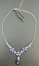 Givenchy Purple Crystal Cluster Necklace - Retails for $68 - Free Shipping