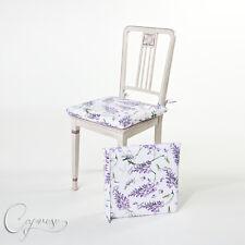 Cuscino, Cuscino sedia 40 x 40 cm motivo fiori dall'Italia nuovo e süβ