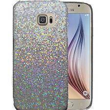 Chrome Sparkle Bling Glitter Shine Hard Back Case  For Samsung Galaxy S6 SM-G920