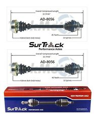For Audi 80 90 FWD 88-92 Pair of Front Left & Right CV Axle Shafts Surtrack Set