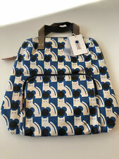 ORLA KIELY POPPY CAT PRINT LARGE BACKPACK/TOTE. BRAND NEW WITH TAGS.