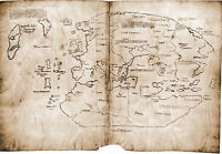 Vinland, First Map of Americas, Discovered by Vikings, Free Booklet