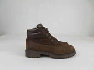 Timberland Brown Hiking Walking Ankle Boot Lace Up Womens Size US 7 M