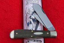 Great Eastern Tidioute #92 OD Green Canvas Micarta Eureka Jack Knife 922219 USA