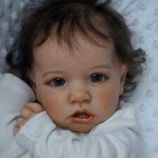 Full Body Silicone Reborn Baby Doll 22 Inch  Lifelike Reborn  Toddler Dolls Gift