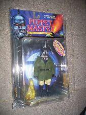 Puppet Master antorcha FIGURE Full Moon Toys. en Verde Chaqueta Lote 2. Sellada