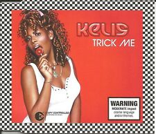 KELIS Trick Me w/ 4 RARE MIXES  Europe Made CD single SEALED USA Seller E SMOOVE
