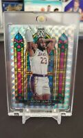 2019-20 Mosaic LeBron James Stained Glass Chase Pack (read description)