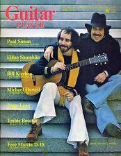 Paul Simon Guitar Player Magazine April 1975