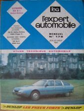 L` expert automobile Citroen CX 2 l. Mensuel Nr. 178 Juillet - Aout 1981