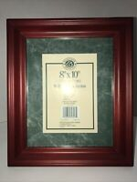 "Windsor Browne Photo Frame Solid Wood Freestanding Or Hang Holds 8x10"" Picture"