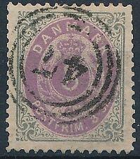 [37483] Denmark 1870 Good stamp Very Fine used Value $130