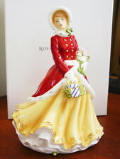 Royal Doulton Pretty Ladies Christmas WINTERS DREAM 2012 Figurine HN5546 - NEW!
