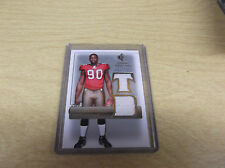 GAME-USED GAINES ADAMS 2007 SP ROOKIE THREADS #RT-GA ROOKIE THREADS TAMPA BAY