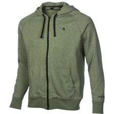 Nixon Identity Too Zip Hood Hoody (S) Spruce Heather S13931214-02