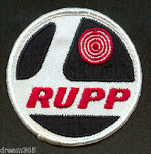 Vintage RUPP Factory Minibike Snowmobile Patch for Jacket or Hat Skidoo 1970's