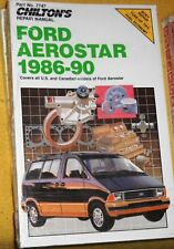 Reparaturanleitung - Ford Aerostar VAN 1986-90 (US Ausgabe) NEU - repair manual