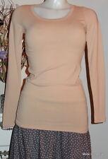NOA Maglietta Basic Jersey elasticizzato COTTON M 38 CINABRO Arancione Cotone