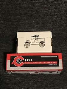 X2 COASTAL Diecast Coin Bank 1939 Dodge Airflow Tanker 1918 Model T Ford