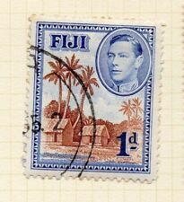 Fidji 1938 début question fine utilisé 1d. 134400