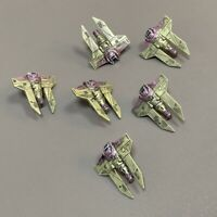Lot 6 Pcs  E-wing Rebel Star Wars X-Wing Miniatures Starfighter Galactic figure