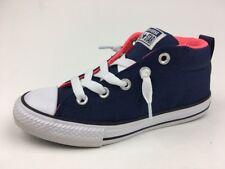 Converse CTAS Street Mid Sneakers-junior Size 2Y - Midnight Navy  062
