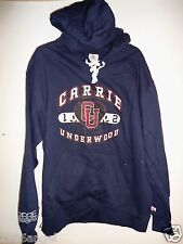 NEW - CARRIE UNDERWOOD BAND CONCERT LACE UP COLLAR HOODIE SWEATSHIRT EXTRA LARGE