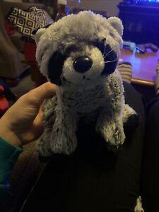 Ganz Webkinz Raccoon HM143 Gray Black Virtual Pet Plush Stuffed Animal NO CODE