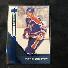 2016-17 Upper Deck Overtime Blue #50 Wayne Gretzky  Edmonton Oilers