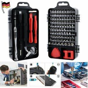 110x Torx Feinmechaniker Schraubendreher Set Mini Schraubenzieher Bitsatz Handys
