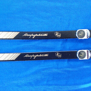 Vintage style Campagnolo 50th anniversary leather toe straps and buttons