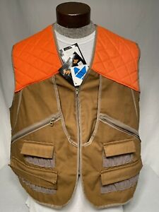 Gamehide Upland Field Pocketed Pheasant Hunting Vest Size Large New With Tags