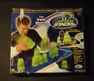 Speed Stacks Stack Pack Set with Mat Timer Carrying Case DVD 11 Flame Cups