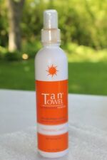 NEW! CHOICE OF Tan Towel Towelette in Face, Half-body, Full-body or tanning mist