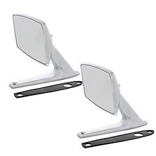 67 68 Ford Mustang Falcon Fairlane Chrome Outside Rear View Right & Left Mirrors