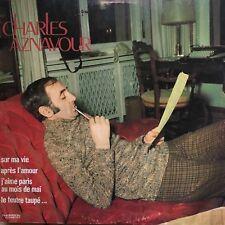 LP/33T/VINYLE - CHARLES AZNAVOUR - Sur ma vie, Après l'amour ...