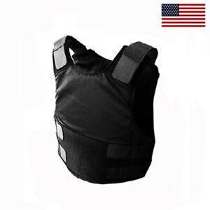 New NIJ Certified w/ Kevlar Bulletproof Vest Body Armor NIJ IIIA - XL