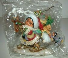 Nib New Friends of the Feather Presents of Spirit Santa with Basket of Toys