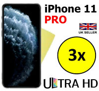3x ULTRA HD CLEAR SCREEN PROTECTOR COVER GUARD FILMS FOR APPLE IPHONE 11 PRO