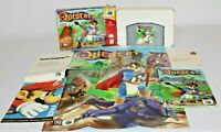 Quest 64 N64 Complete w/ Box, Manual, Map, Tray, & MORE! AWESOME! Look!