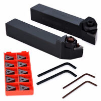 Boring Bar Turning Tool Holder + 10pcs TNMG160408-HS LF6018 Carbide Inserts Set